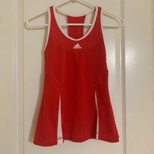 Adidas athletic tank top+bra top